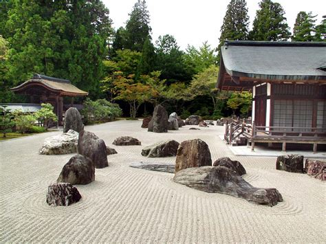 Japanese Garden Rocks Rock Garden Confero Dezso