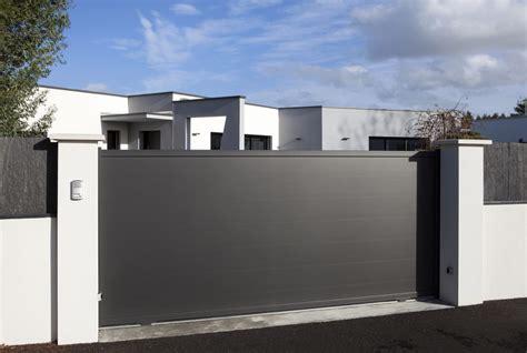 Portail De Maison Moderne portail maison moderne beautiful portail coulissant with