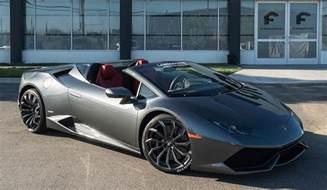 Lamborghini Spider Lamborghini Huracan Spyder By Forgiato Wheels