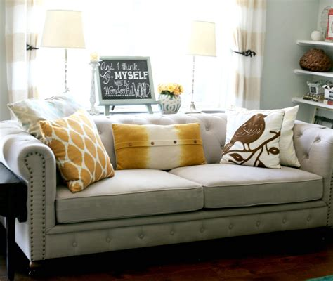 recover couches transforming lshades from blah to beautiful aka how