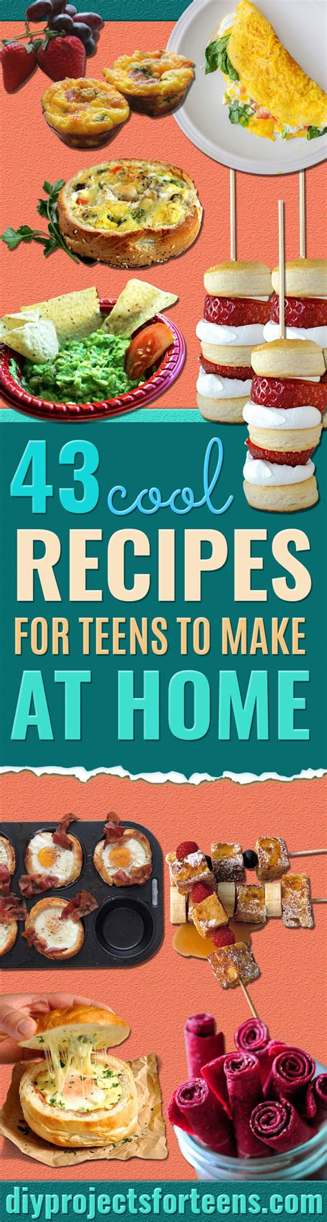 Food To Make At Home by 43 Cool Recipes For To Make At Home Diy Projects