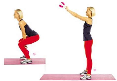 squat swing object moved