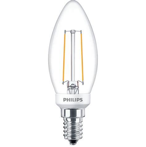 Filament Led Philips Classic Design 2 Watt ledcandle d 2 7 25w b35 e14 827 cl classic filament led ls philips lighting