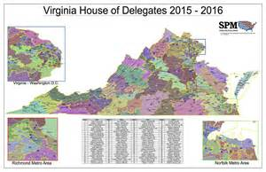 Virginia Senate District Map by Redistricting Onevirginia2021