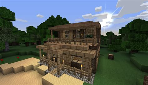Small Minecraft Houses small house at the minecraft project