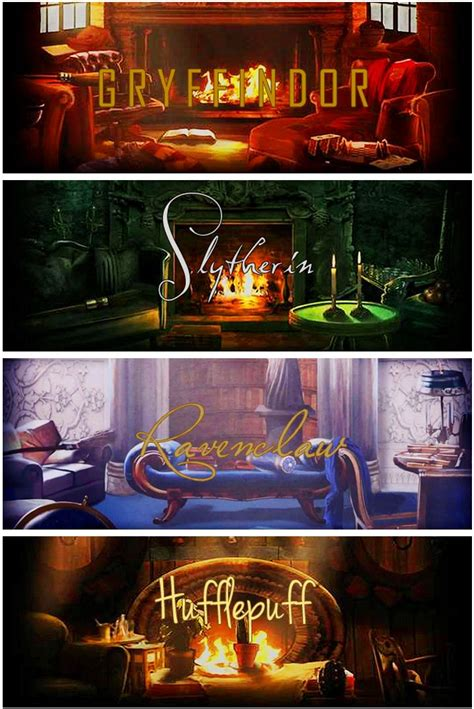 houses in harry potter harry potter hogwarts common rooms potter board 9 3 4