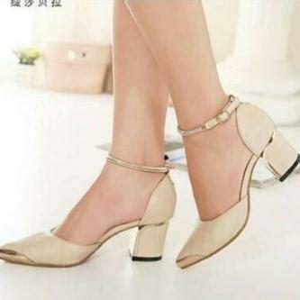 High Heels Wanita Murah Kode Bv468 high heels sepatu sandal wanita hak tahu murah dan cantik