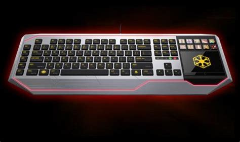 Keyboard Gaming Termahal Razer Wars The Republic Gaming Keyboard Ubergizmo