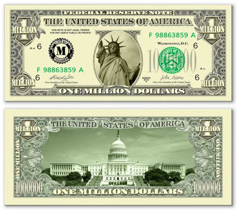 new year dollar bill tradition lot of 300 miss liberty traditional one million dollar