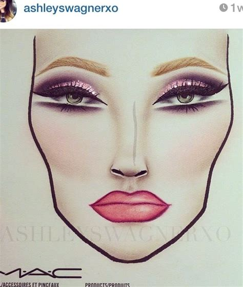 the 25 best mac face charts ideas on pinterest face half face chart makeup www pixshark com images