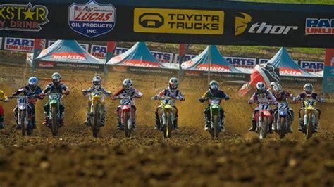 lucas ama pro motocross lucas renews sponsorship of ama pro motocross chionship