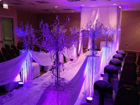 Rent Wedding Ceremony Stage Decor, Backdrops, Lighting