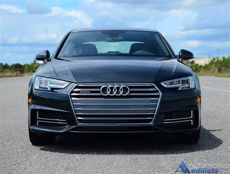 audi a4 2017 black 2017 audi a4 2 0t quattro review test drive the brand