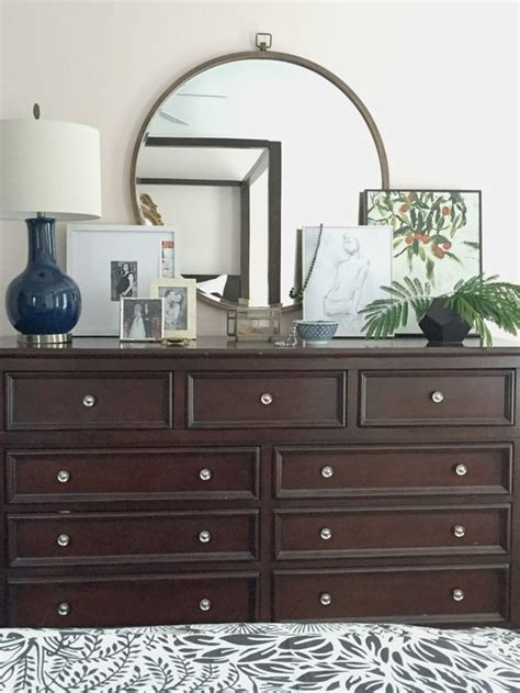 how to decorate a dresser in bedroom bedroom dresser top decor photos and video