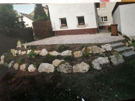 Garten Gestalten Findlinge by Terrasse Und Garten Gestalten Findlinge