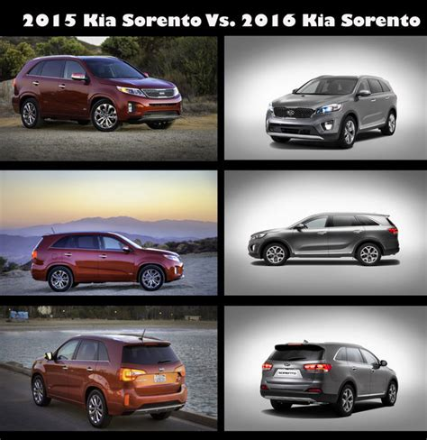 Kia Sorento Vs 2016 Kia Sorento Car Review Top Speed