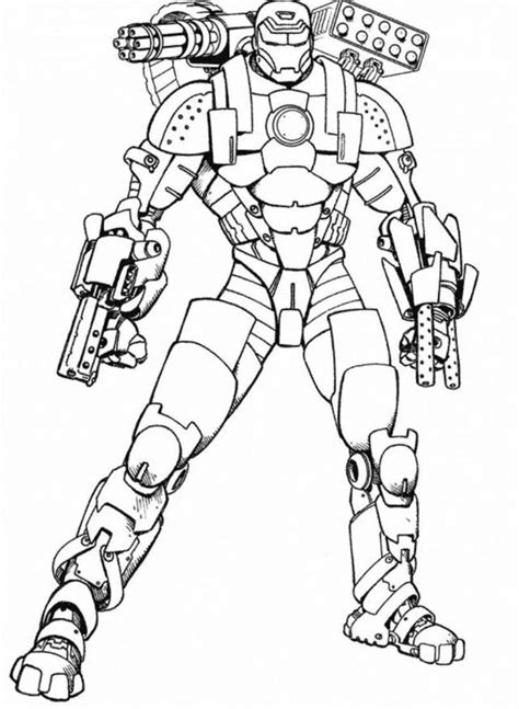 free iron man coloring pages 38 coloring sheets