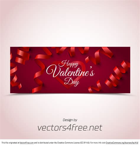s day website free bokeh valentine s day banner vector