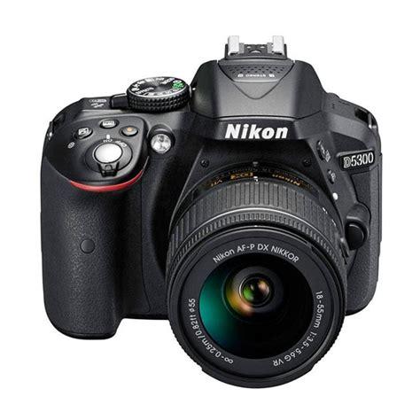 Nikon D5300 18 55mm Vr Kit jual nikon d5300 kit af p 18 55mm vr kamera dslr hitam