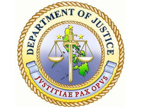 Department Of Justice Search Department Of Justice Logo Inquirer Technology