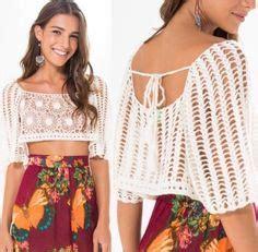 Al406 Blouse Motif Bagus 1000 images about crochet top on crochet halter tops crochet tops and crochet crop top