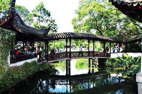 classical gardens in jiangnan region yangtze river delta