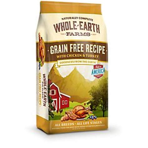 whole earth puppy food whole earth farms chicken food