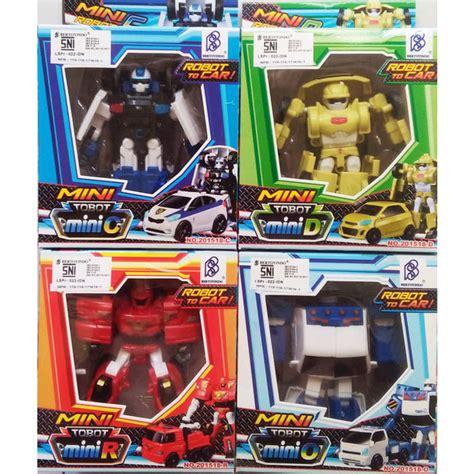 Mainan Anak Robot Tobot by Jual Mainan Tobot Mini Series Robot Tobot Mini Tobot Y W X