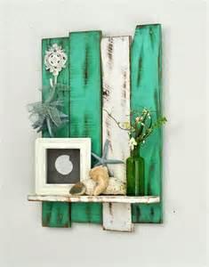 painting wood shelves ingenious 21 wooden pallet shelves ideas small house decor