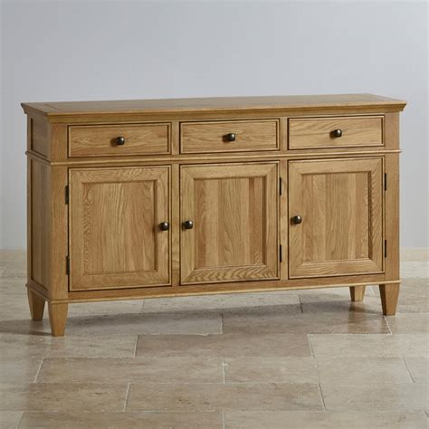 Solid Oak Sideboards Uk classic large sideboard in solid oak