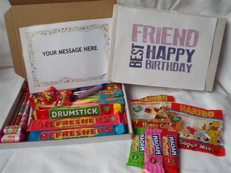 best gift for on birthday retro gift box best friend birthday free personalised message 45 ebay