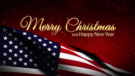 usa flag merry christmas  stock footage video  royalty   shutterstock