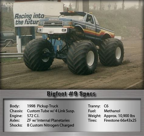 bigfoot 9 monster truck 115 best images about monster trucks on pinterest four