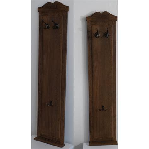 ingresso appendiabiti appendiabiti da parete attaccapanni 6 ganci legno marrone