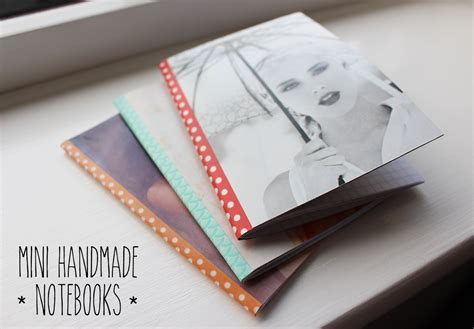 Handmade Notebooks - camis cushions mini handmade notebooks