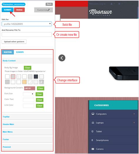 live theme editor download leo moonsun moonsun guide for prestashop 1 6