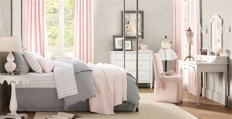 gray girl bedroom daly designs grey and pink