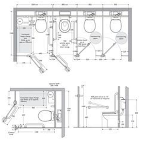 Universal Bathroom Dimensions Toilet Cubicle Dimensions Hbl On Toilets