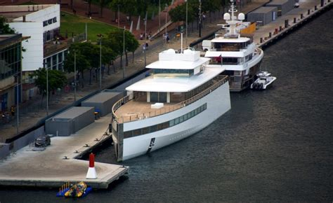 boat show jobs rare photo of steve jobs yacht sets the internet on fire