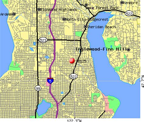 seattle zip code map 98125 zip code seattle washington profile homes