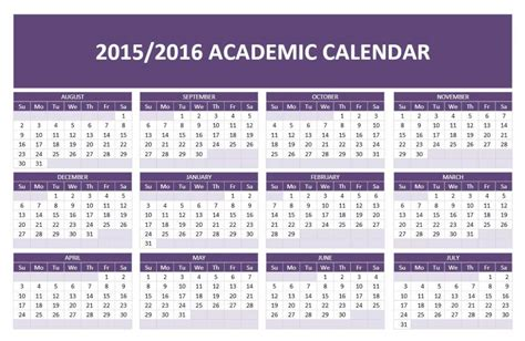 2015 calendar templates for word 2015 2016 academic calendar template free microsoft word