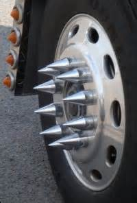 Truck Wheel Nut Spikes How In The Actual Are These Wheels