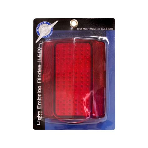 mustang led tail lights 1964 1 2 1965 1966 ford mustang led tail light red lens