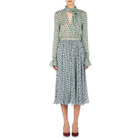 Dress Scarf philosophy di lorenzo serafini s clover print scarf