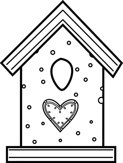 free coloring pages bird houses bird house made from cookies coloring pages best place