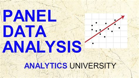 Econometrics Of Panel Data panel data analysis econometrics fixed effect random