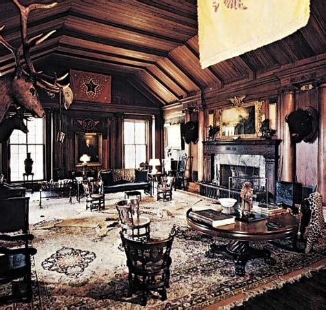 Sagamore Room by Roosevelt Theodore Room In Sagamore Hill