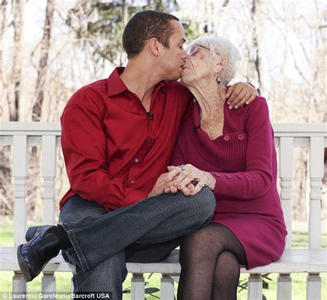 extreme toyboy 31 takes 91 year old girlfriend home to