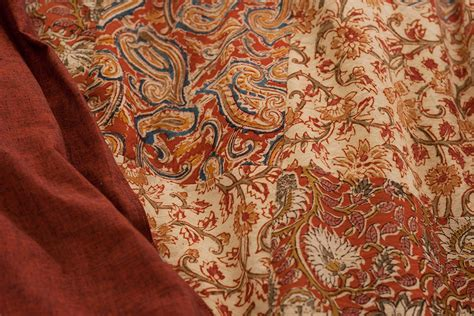 Indian Quilt Covers by Kalamkari Gold Indian Patchwork Duvet Cover Bed