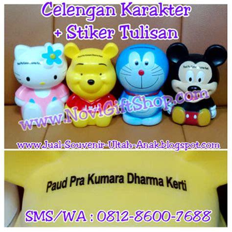 Sale Jam Tangan Anak Karakter Hello Souvenir Ulang Tahun Anak celengan tabung karakter stiker nama